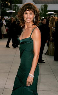 Bridget Moynahan at the Vanity Fair Oscar Party in West Hollywood.