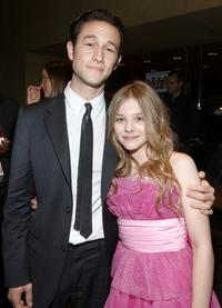 Joseph Gordon-Levitt and Chloe Moretz at the after party of the California premiere of