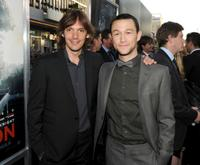 Lukas Haas and Joseph Gordon-Levitt at the California premiere of