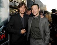 Lukas Haas and Joseph Gordon-Levitt at the premiere of