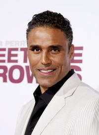 Actor Rick Fox at the L.A. premiere of