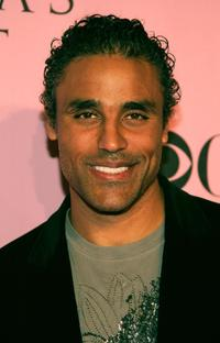 Rick Fox at the Victorias Secret Fashion Show.