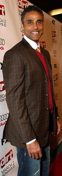 Rick Fox at the 2nd Season premiere screening of