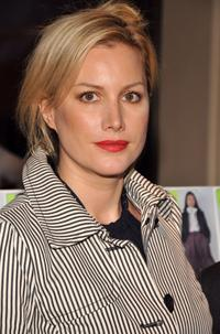 Alice Evans at the Tommy Hilfiger Fall 2008 fashion show during the Mercedes-Benz Fashion Week Fall.