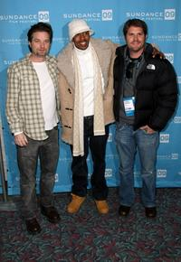 Shea Whigham, Nick Cannon and director Jonathan Liebesman at the screening of