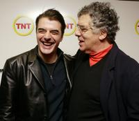Elliott Gould and Chris Noth at the premiere of