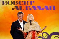 Elliott Gould and Sally Kellerman at the 22nd Annual Film Independent Spirit Awards.