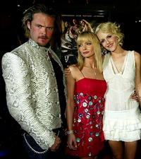 Matt Schulze, Jaime Pressly and Monet Mazur at the Los Angeles premiere of