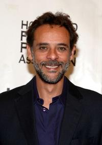 Alexander Siddig at the InStyle and HFPA Toronto Film Festival party.