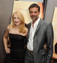Patricia Clarkson and Alexander Siddig at the premiere of