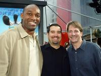 Producer Broderick Johnson, Steven Wegner and Jeff Foxworthy at the premiere of