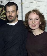 Rupert Graves and Kate Burton at the Royale Theatre in New York City.