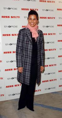 Charisma Carpenter at the Miss Sixty and Energie official store opening.