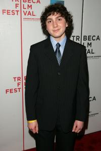 Daryl Sabara at the premiere of