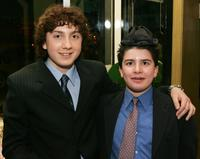 Daryl Sabara and brother Evan Sabara at the after party of