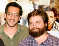 Director Todd Phillips and Zach Galifianakis at the