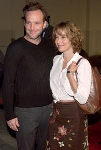 Clark Gregg and Jennifer Grey at the screening of