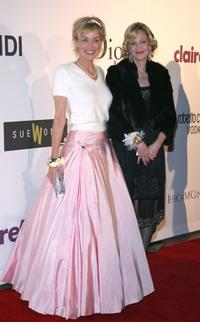 Melanie Griffith and Sharon Stone at the first annual Class Of Hope Prom 2007 charity benefit.