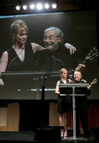 Melanie Griffith and Mark Rydell at the 34th Annual Daytime Creative Arts and Entertainment Emmy Awards.