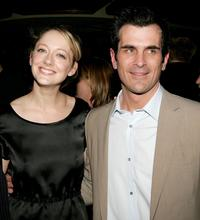 Judy Greer and Ty Burrell at the opening night after party of