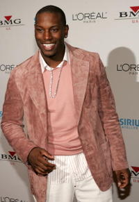 Tyrese Gibson at the Clive Davis Grammy party.