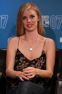 Actress Kelli Garner at the press conference during the Toronto International Film Festival.