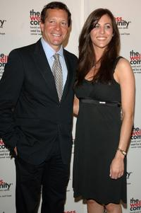 Steve Guttenberg and guest Michelle Nelson at the