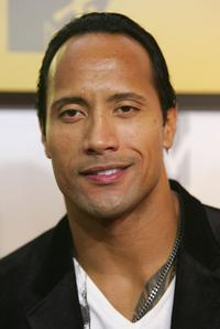 The Rock at the MTV Video Music Awards.