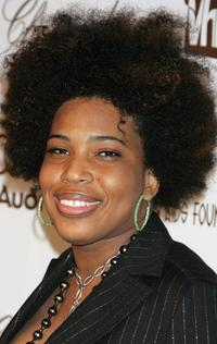 Macy Gray at the 14th Annual Elton John Academy Awards viewing party.