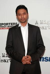 Irfan Khan at the after party of the New York premiere of