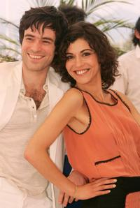 Romain Duris and Lubna Azabal at the photocall of