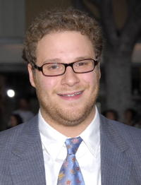 Seth Rogen at the L.A. premiere of