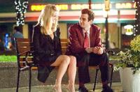 Alice Eve as Molly and Jay Baruchel as Kirk in