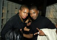 Sam Jones III and Ray J at the WB 2003 Winter TCA Tour Party.