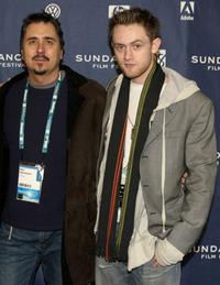 Director Neil Abramson and Matt O'Leary at the premiere of