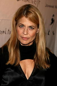 Linda Hamilton at the Johnnie Walker Dressed to Kilt 2006 fashion show during the Mercedes Benz Fashion Week.