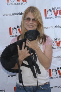 Linda Hamilton at the Much Love Animal Rescue Present's Shop