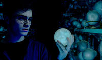 Daniel Radcliffe as Harry Potter in