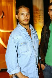 Tom Hardy at the SkyHD Designer Box Collection.