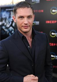 Tom Hardy at the premiere of