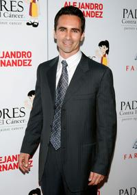 Nestor Carbonell at the Padres Contra El Cancer's 8th Annual