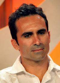 Nestor Carbonell at the CBS portion of the Television Critics Association Press Tour.