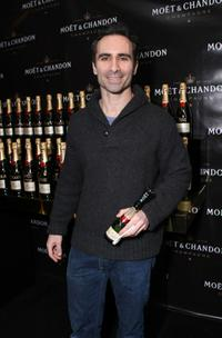 Nestor Carbonell at the Moet and Chandon suite during the 2008 SAG Awards.