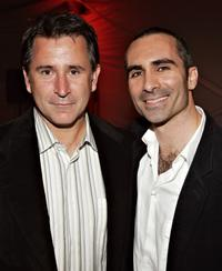 Anthony LaPaglia and Nestor Carbonell at the after party of