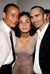 Juan Fernandez, Ines Sastre and Nestor Carbonell at the after party of