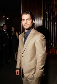 Henry Cavill at the after party of the premiere of
