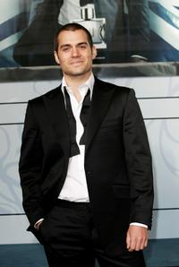 Henry Cavill at the photocall of Dunhill
