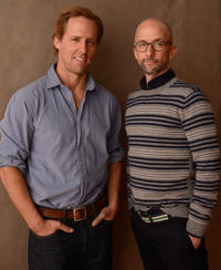 Nat Faxon and Jim Rash at the portrait session of