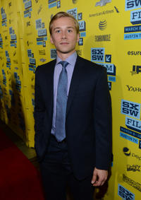 Lou Taylor Pucci at the premiere of