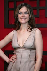 Emily Deschanel at the FOX Broadcasting Company Upfront.